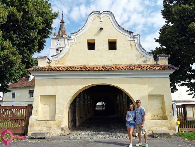 Iglesias sajonas de Rumanía