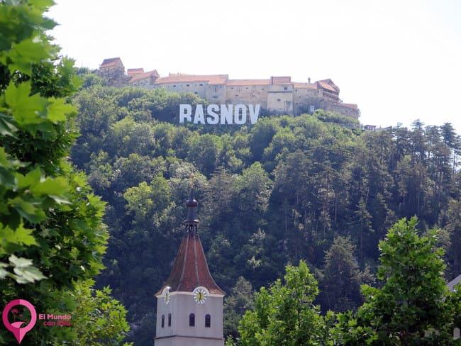 La ciudad fortificada de Rasnov