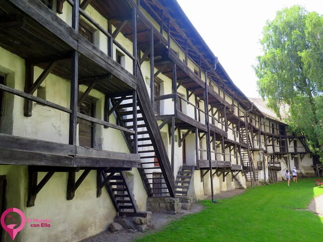Historia de la Iglesia Fortificada de Prejmer