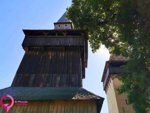 Campanario de la Iglesia Fortificada de Biertan