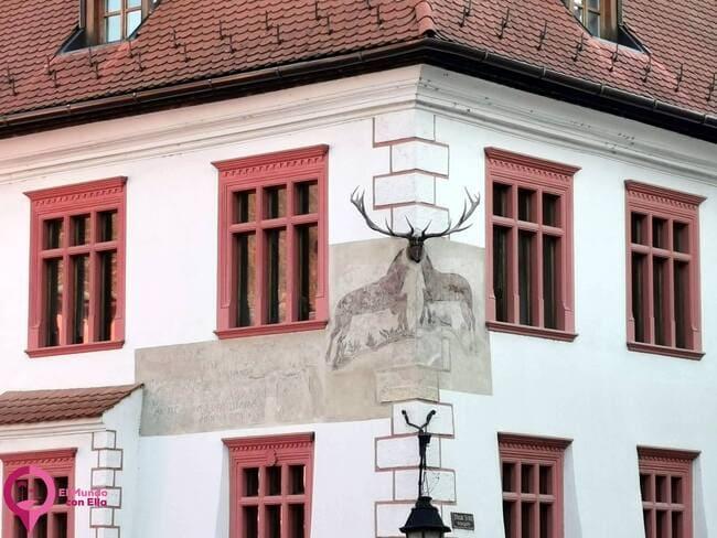 Casa del venado en Sighisoara