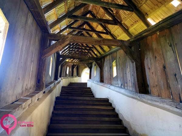 Entrada a la Iglesia Fortificada de Biertan