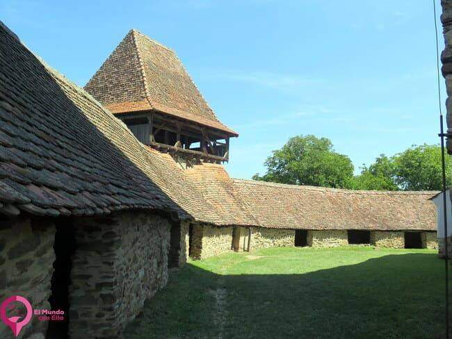 Interior de la Iglesia Fortificada de Viscri