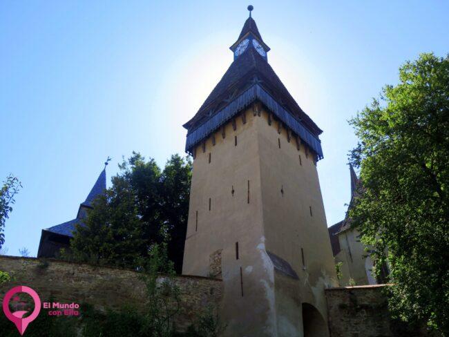 Torre del Reloj de la Iglesia de Biertan