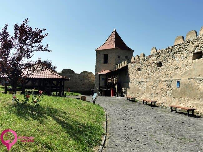 El castillo más antiguo de Rumanía