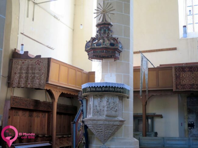 Púlpito de Biertan