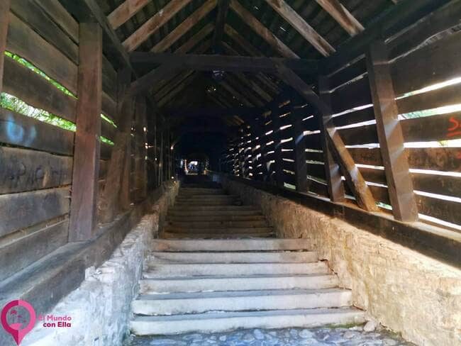 Escalera de los Estudiantes en Sighisoara