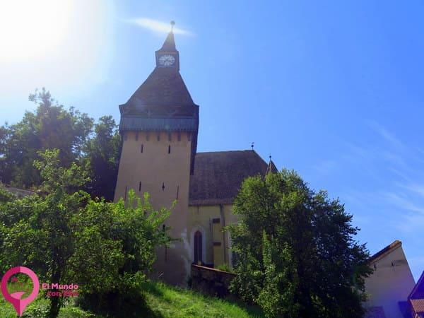 Torres interiores en la Iglesia Fortificada de Biertan