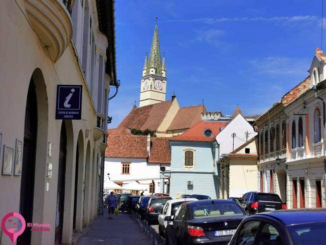 La Ciudad Medieval de Medias en Rumanía