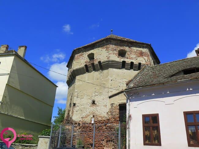 Murallas y Torres Defensivas en Sibiu