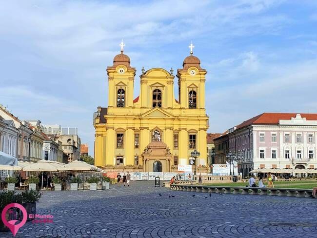 Piata Unirii Timișoara