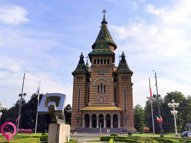 Gran catedral ortodoxa rumana de Timisoara