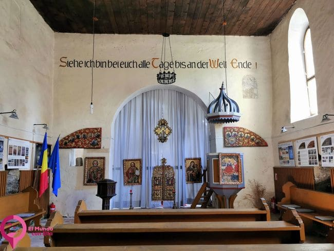 La Iglesia Fortificada más pequeña de Transilvania