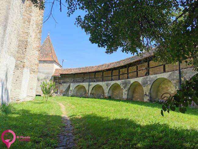 Interior de la Iglesia Fortificada de Valea Viilor
