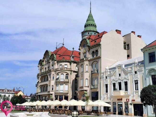 Edificio emblemático de Oradea