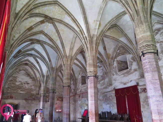 Las partes más bonitas del Castillo de Hunyad