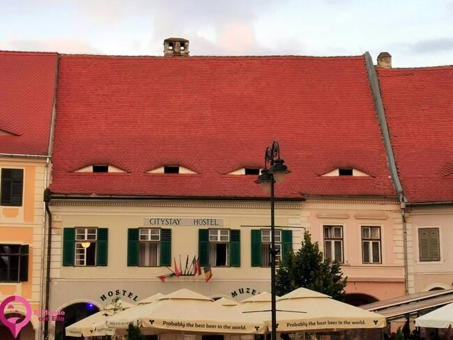 Qué son los ojos de Sibiu
