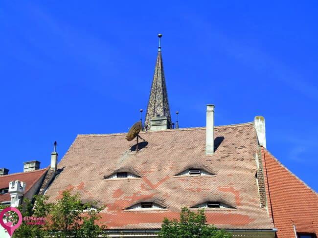 """Por qué llaman a Sibiu """"La Ciudad de los Ojos"""""""