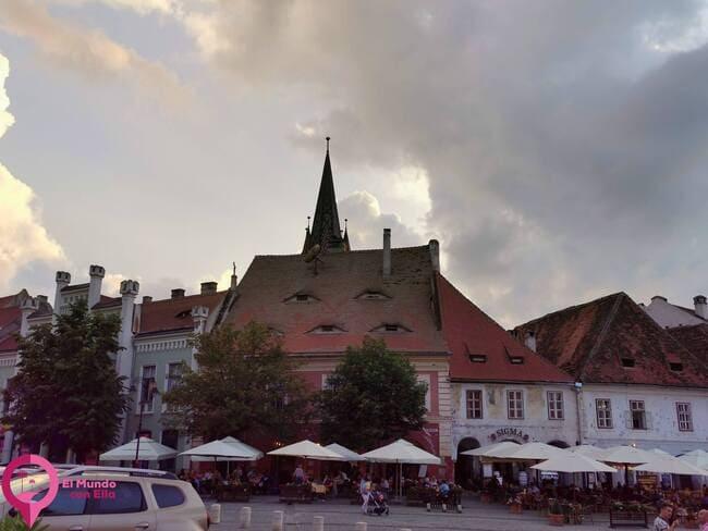Principales plazas de Sibiu