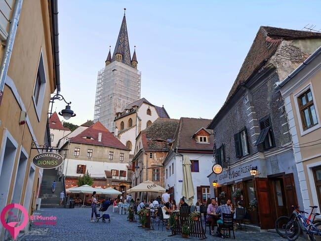 Calle de Turnul Scarii en Sibiu