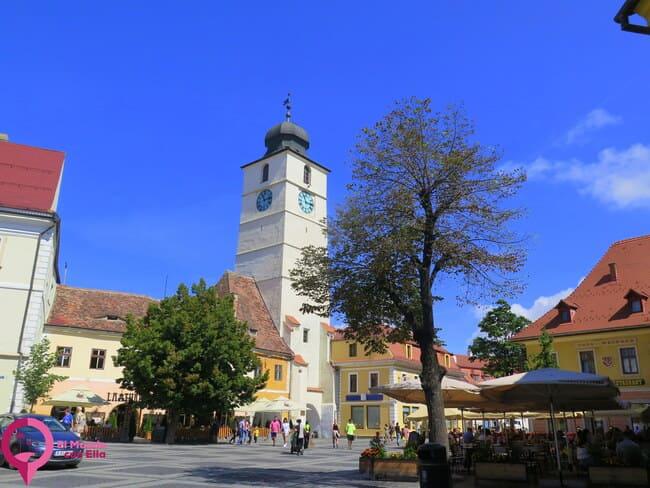 Turnul Stafului en Sibiu