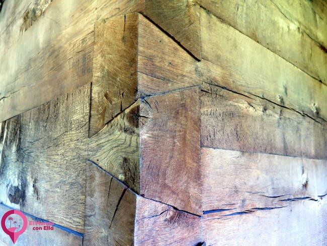 Construcciones en madera sin clavos