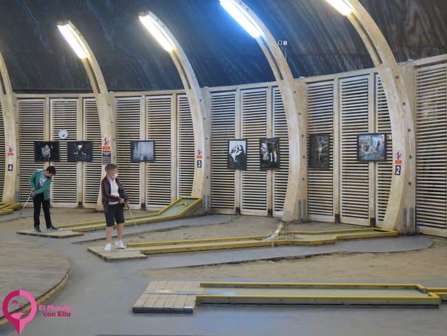 Atracciones en el interior de la Salina Turda