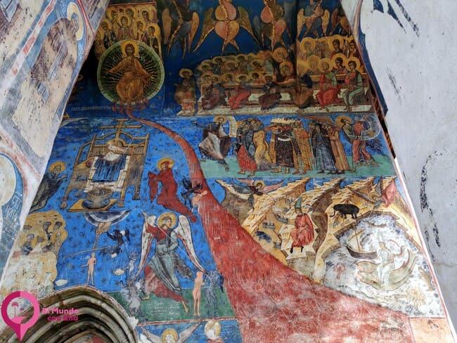 Los mejores frescos de las Iglesias Pintadas de Bucovina