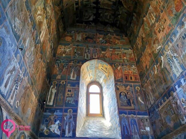 Los frescos mejor conservados en las Iglesias de Bucovina