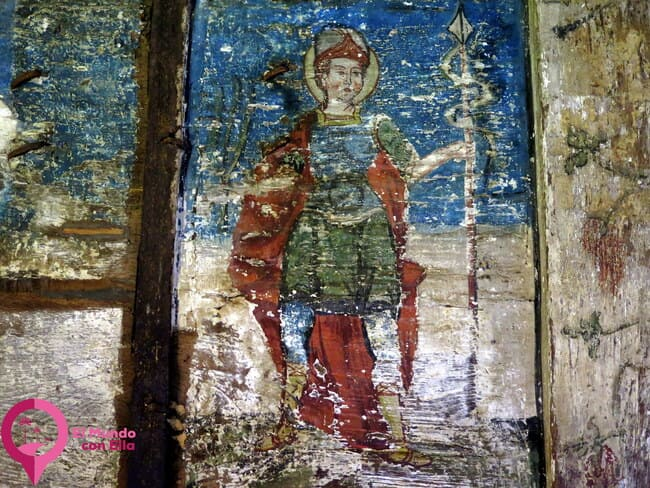 Pintura sobre Madera en Surdesti