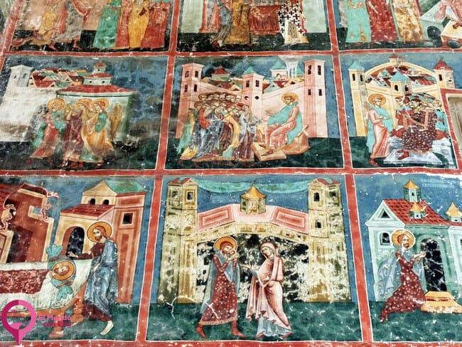 Los magníficos frescos medievales de las Iglesias de Bucovina