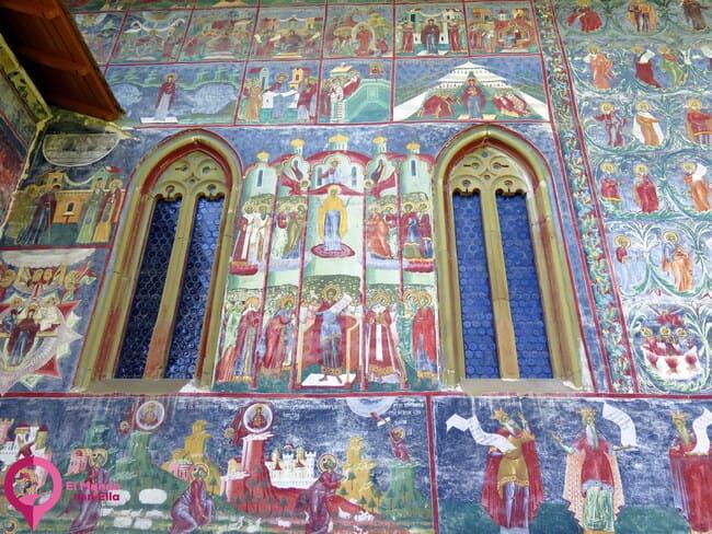 Visitar los Monasterios Pintados de Bucovina