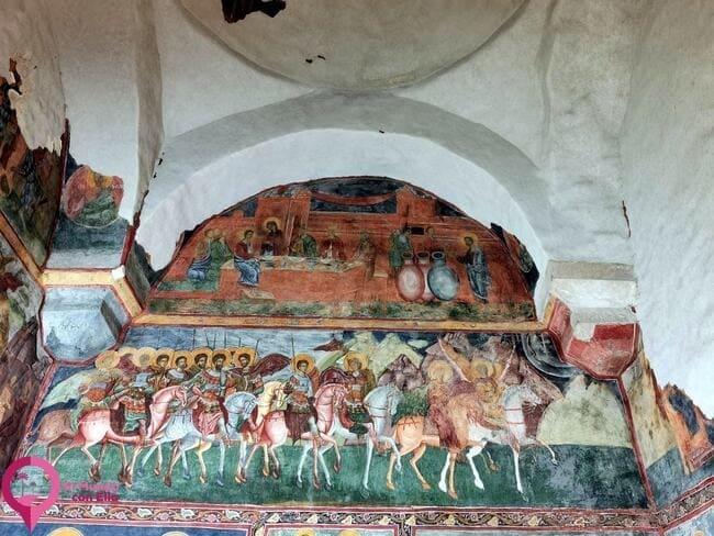 Representaciones contemporáneas en las Iglesias de Bucovina