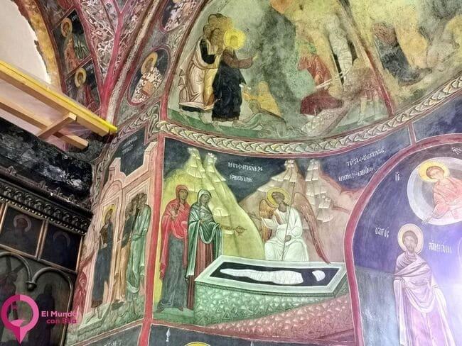 Curiosidades del Monasterio de Patrauti