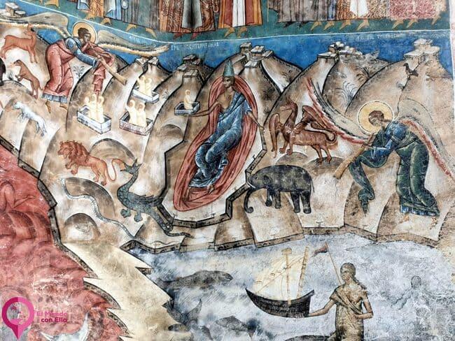 La iconografía de las Iglesias Pintadas de Bucovina