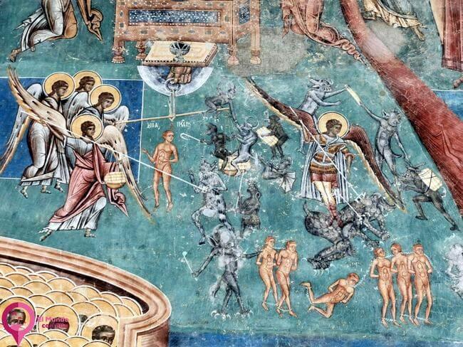 Frescos en las Iglesias Pintadas de Bucovina