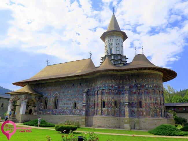 Las Ocho Iglesias Pintadas de Bucovina Patrimonio de la Humanidad