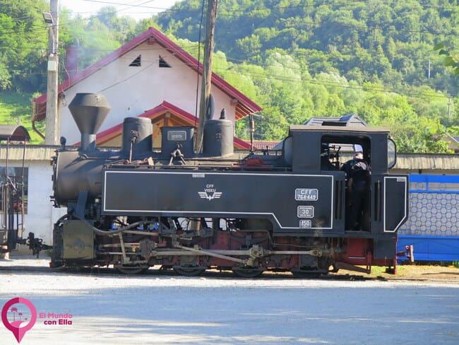 Tren de Mocanita en Rumanía