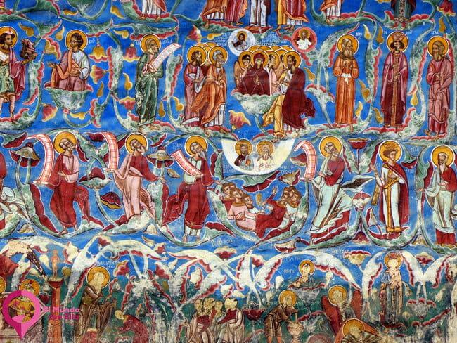 El color en las Iglesias de Bucovina